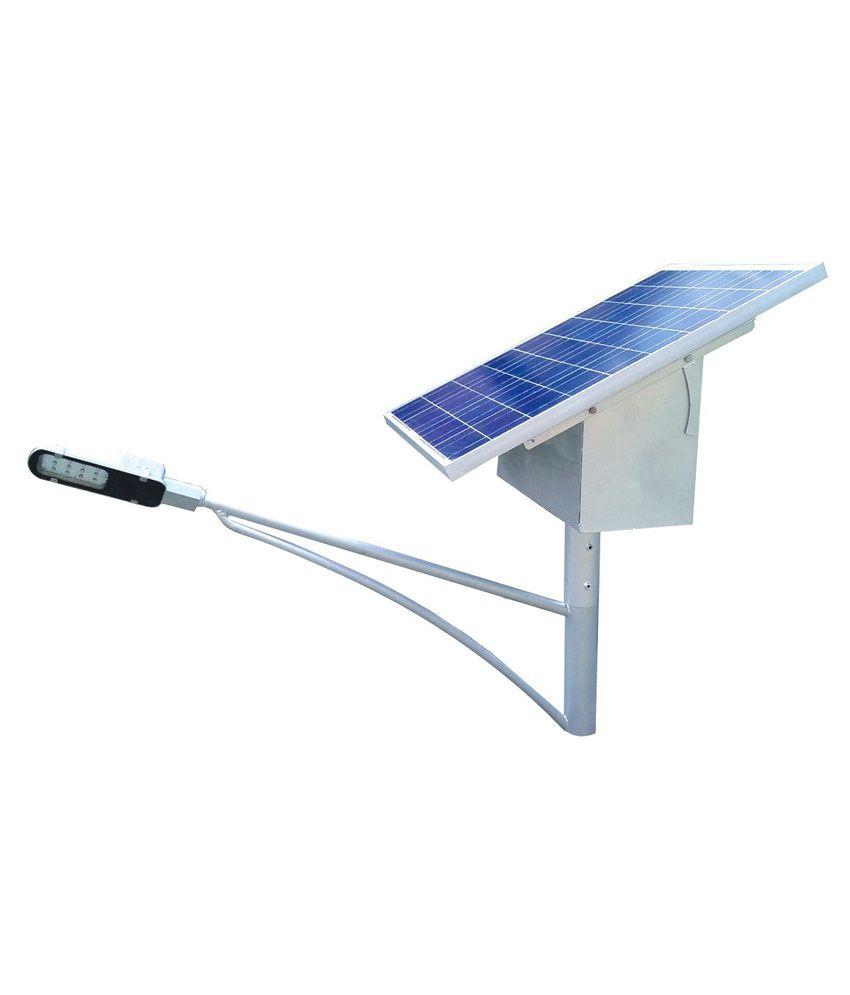 Reenergy Solar Solutions 6W Square Solar Light (Pack of 3)
