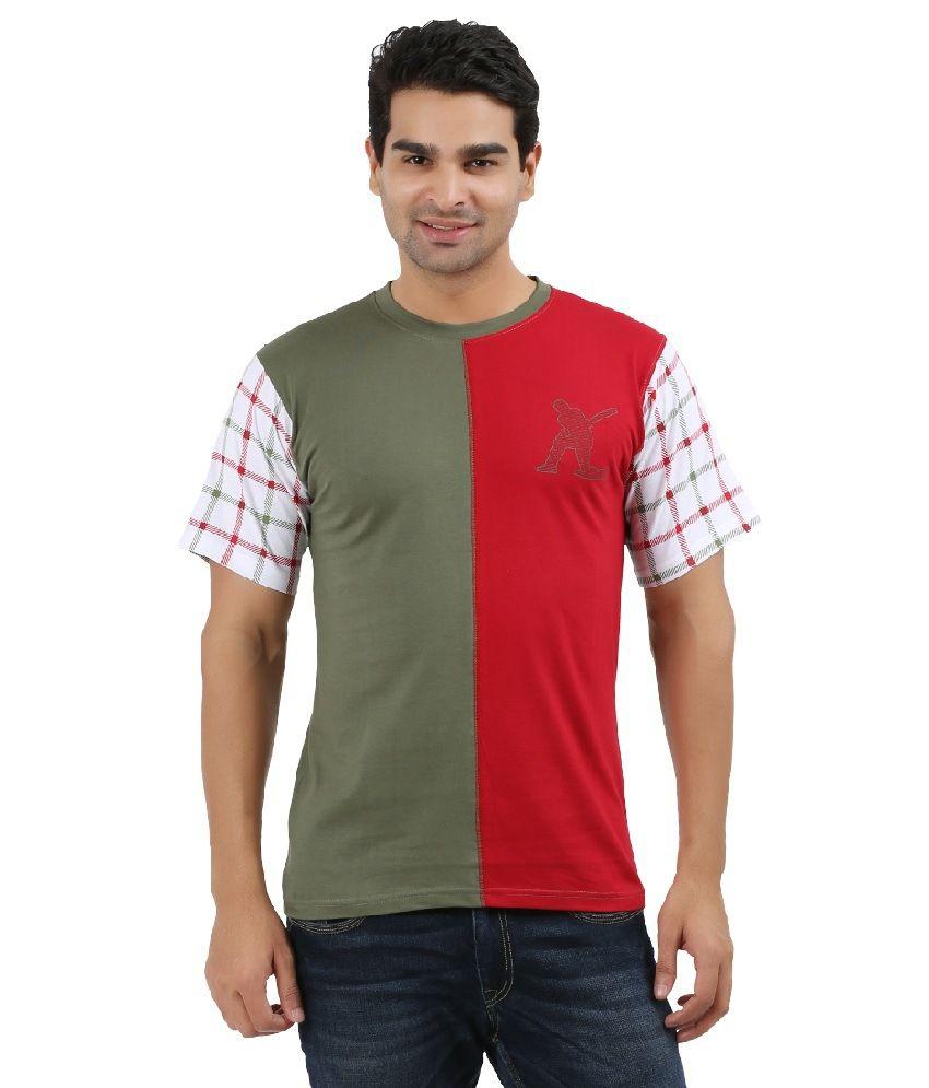 Uv2 Multicolour Cotton T-Shirt