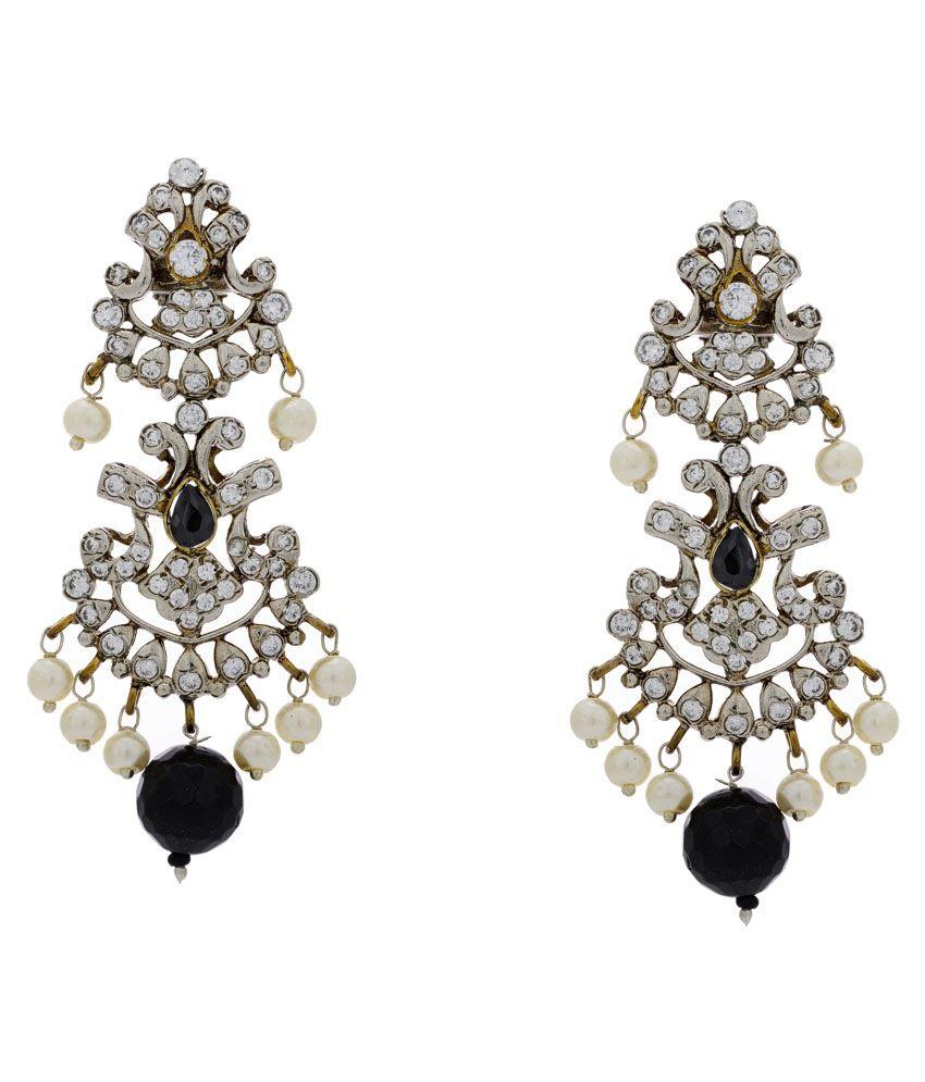 Hyderabad Jewels Black Antique Chandelier - Buy Hyderabad Jewels ...