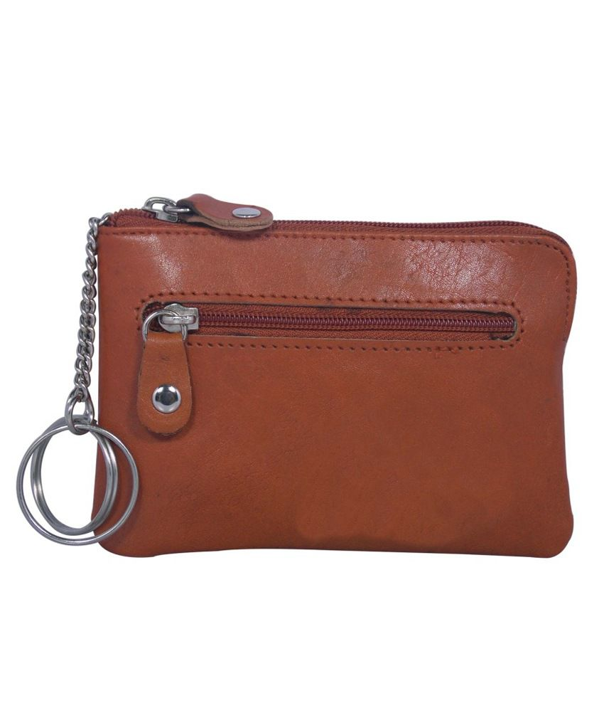 Ekora Brown Vanity Kit And Pouch For Women