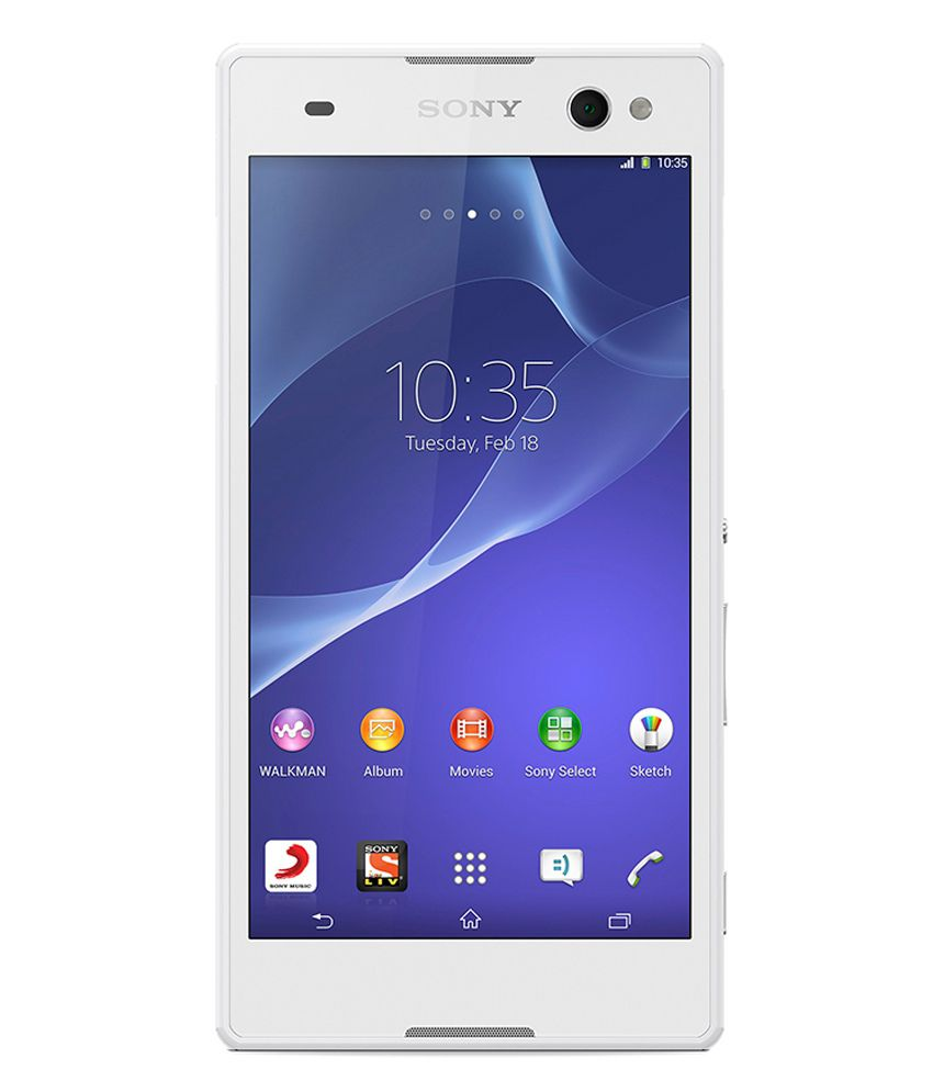 Sony Xperia C3 Dual 8GB White Mobile Phones Online at Low ... Xperia C3 Price