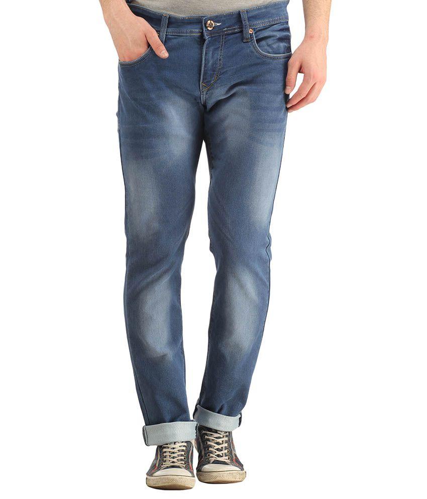 Spawn Blue Regular Fit Jeans
