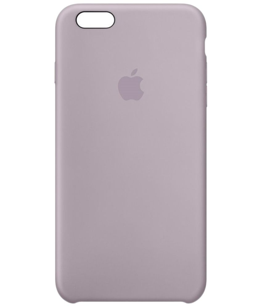 timeless design b24d4 102a2 Apple Silicone Case for iPhone 6s Plus - Lavender - Plain Back ...