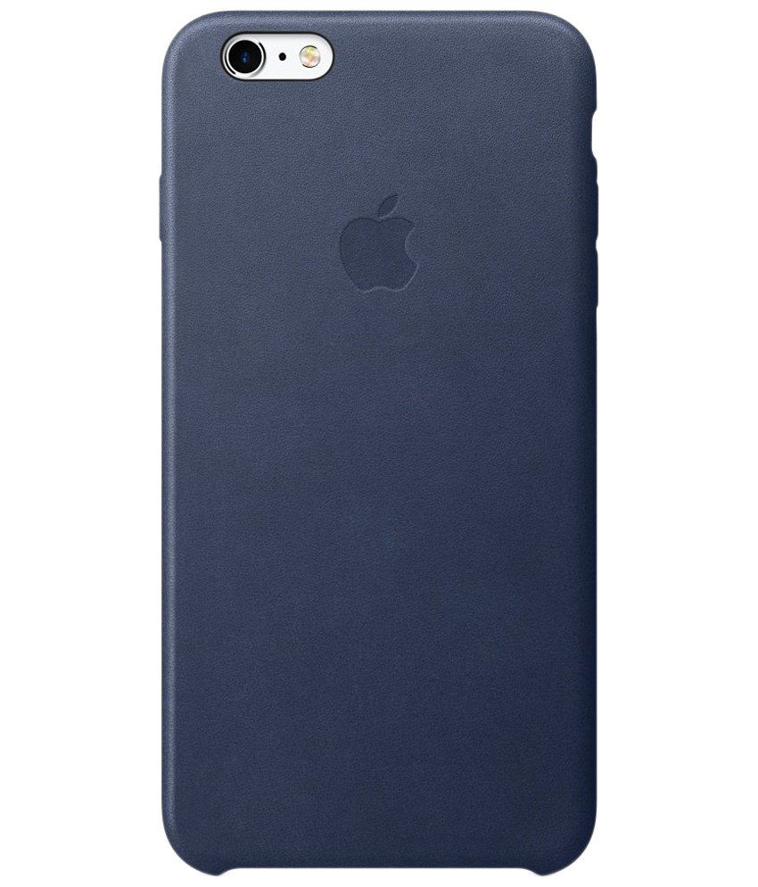 new arrival c907e 14782 Apple Leather Case for iPhone 6s Plus - Midnight Blue
