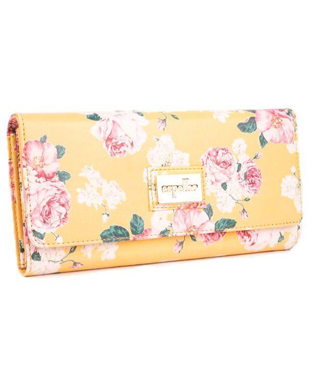 Espelho Yellow Wallet For Women