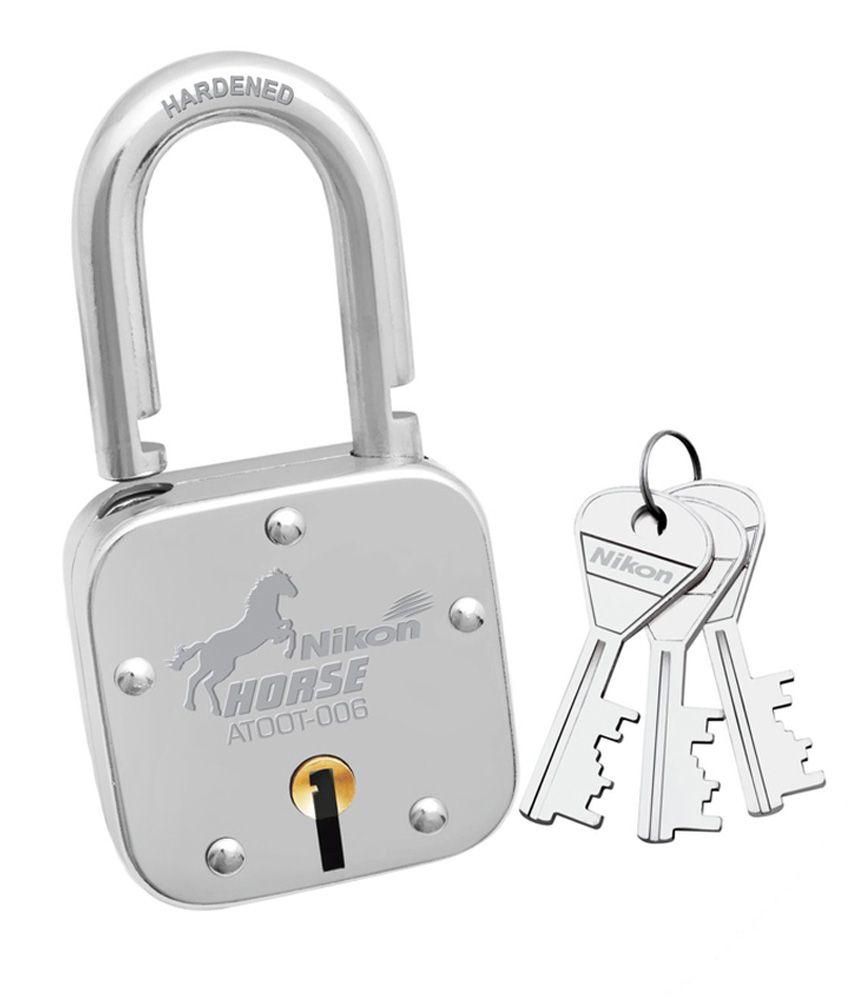 Nikon Locks Sliver Iron Lock