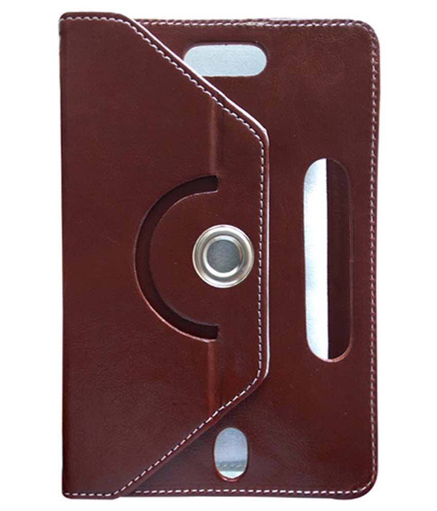 Fastway Flip Cover For Zync Z18 2G Calling Tablet - Maroon
