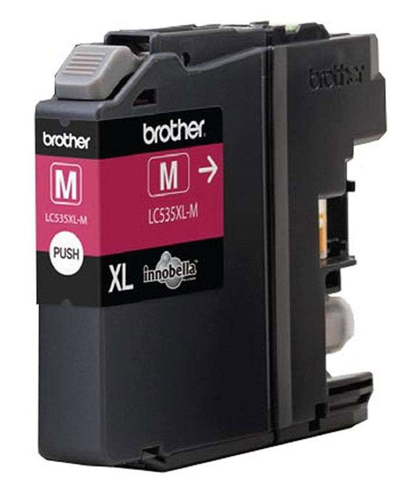 Brother Lc535Xl-M Cartridge Magenta Color (For Use In Dcp-J100/Dcp