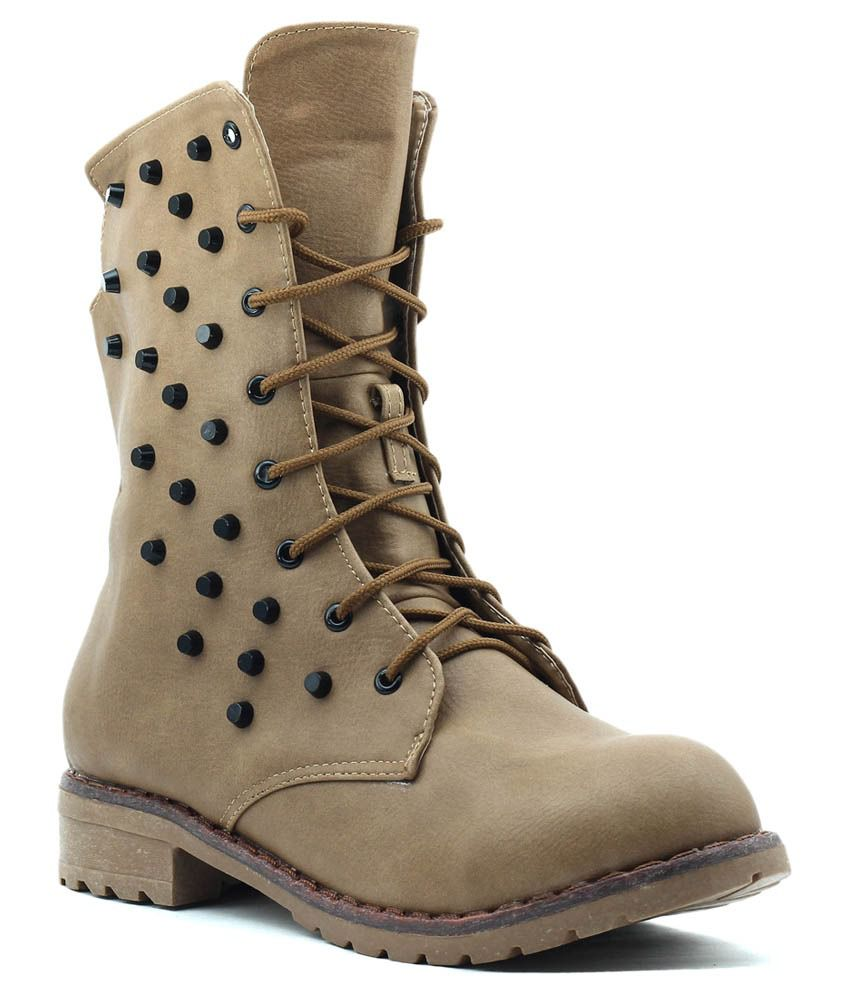 Shuberry Beige Boots