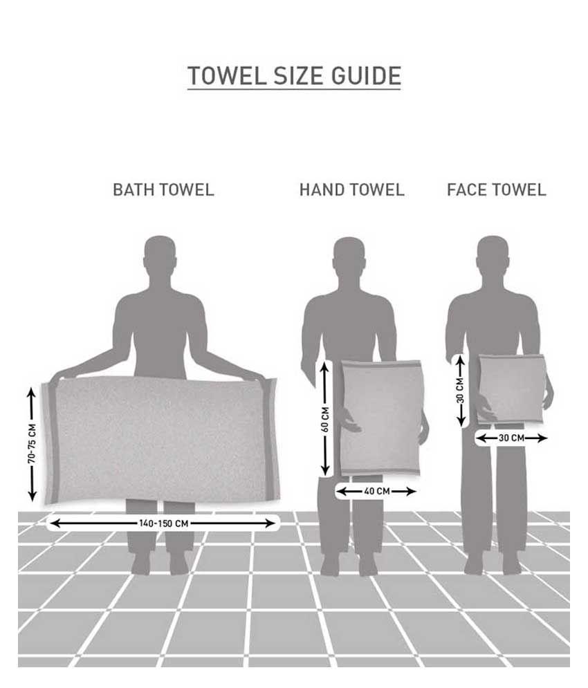 Normal Bath Towel Size