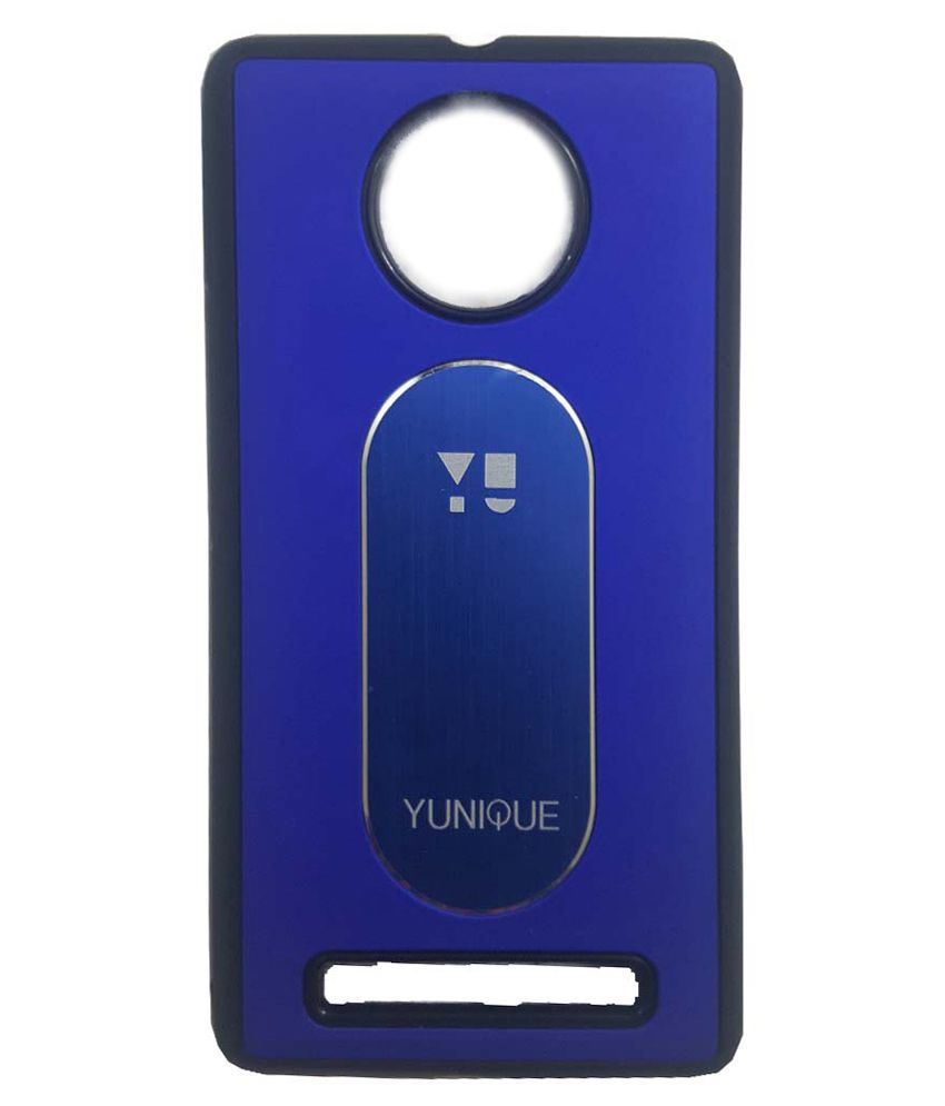 outlet store 7e0ca 47c25 Style Case Back Cover for Micromax Yu Yunique Yu 4711 - Blue