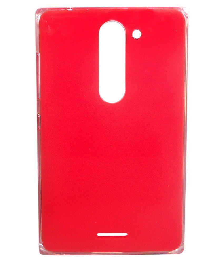 brand new 445e8 3a333 Totta Battery Back Cover For Nokia Asha 502 Dual Sim-Red