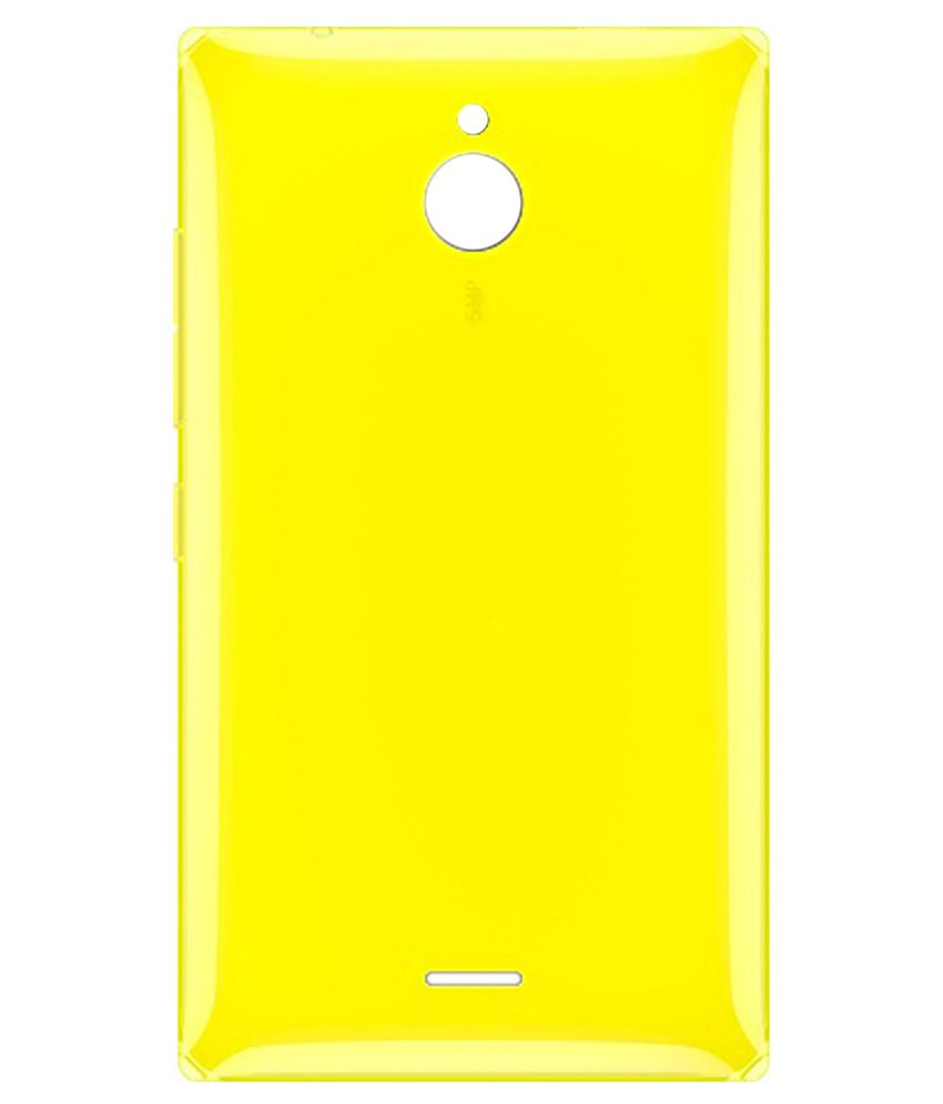 competitive price 5f54e bda22 Totta Battery Back Cover For Nokia X2 Dual Sim-Yellow