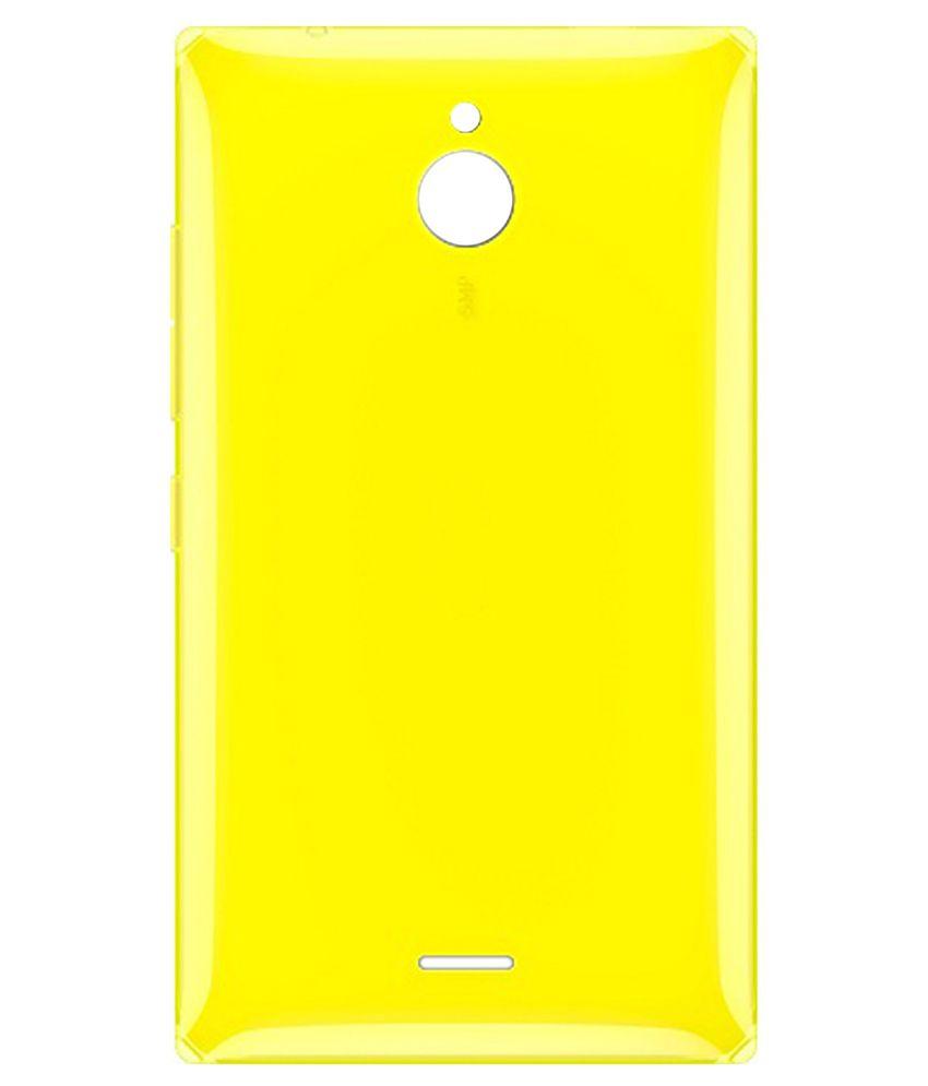 competitive price e752e e2c55 Totta Battery Back Cover For Nokia X2 Dual Sim-Yellow
