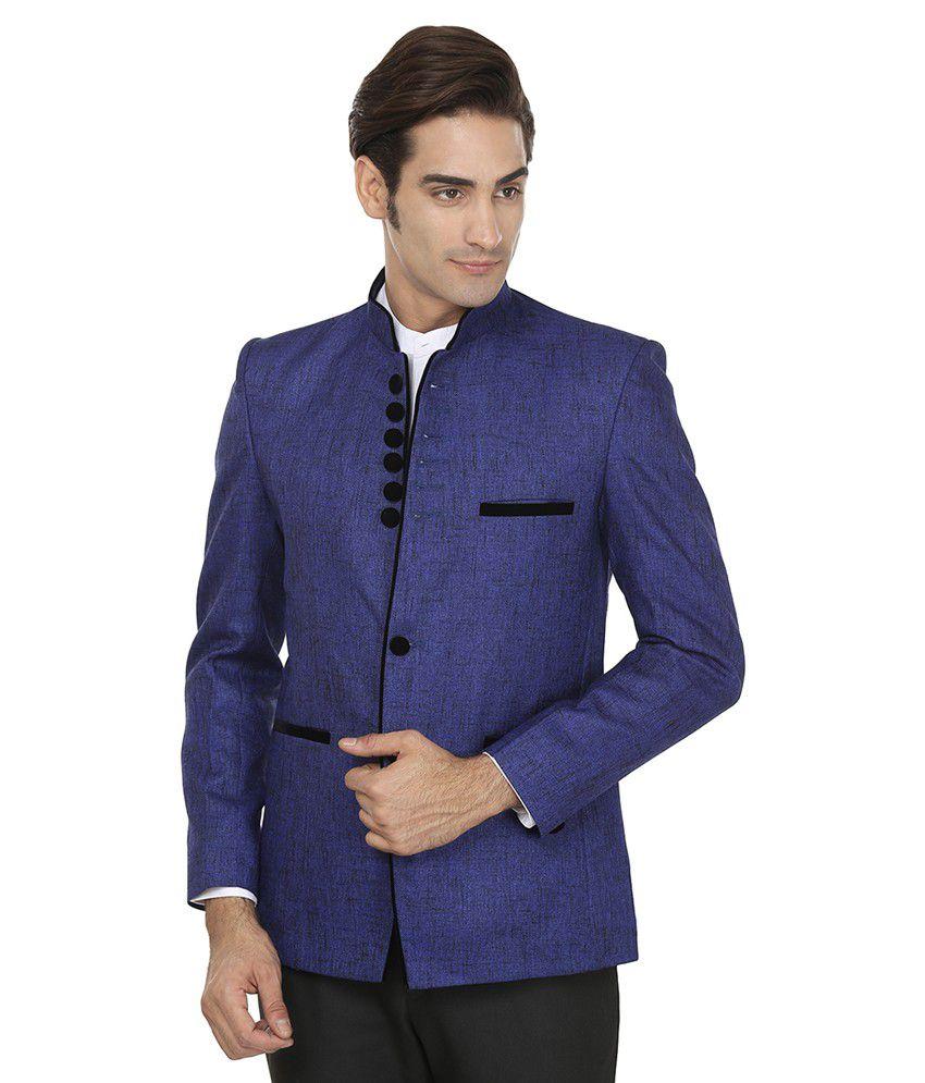 Wintage Blue Rayon Blazer