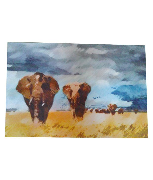 Shree Vijaya Enterprises Canvas Painting - Pack Of 2