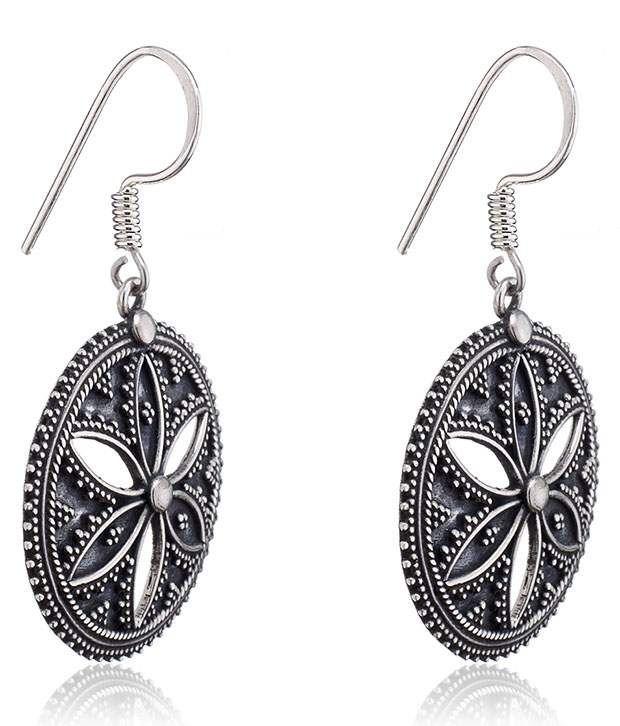 Aarohee 92.5 Sterling Silver Earrings