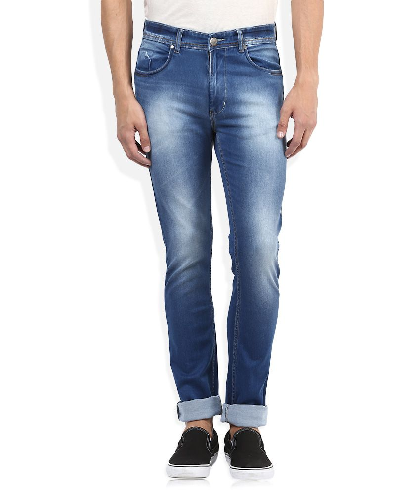 American Swan Blue Slim Fit Jeans