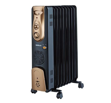 Havells 2900 W Havells Ofr - 13Fin With Ptc Fan Heater 2900W Oil Filled Radiator
