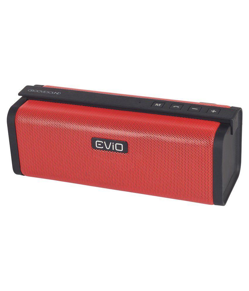 Evio-Ps62-Portable-Speaker-Red