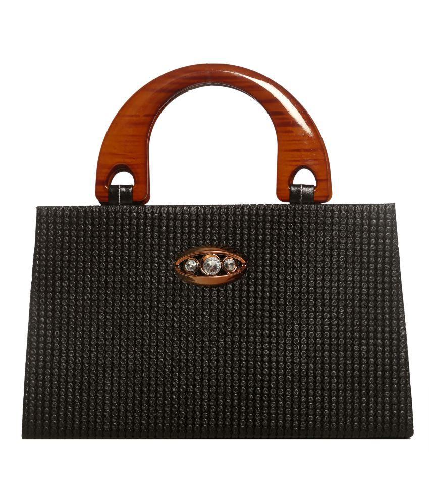 Tripssy Black Hand Bag