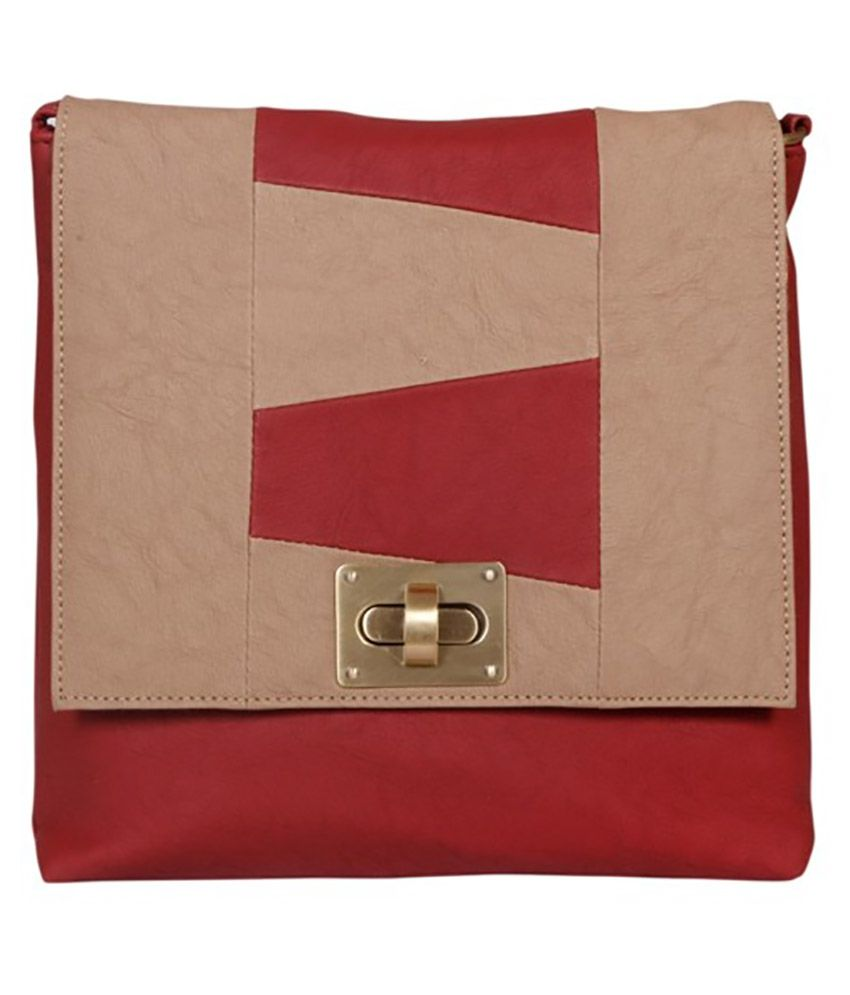 Maison Maroon Sling Bag