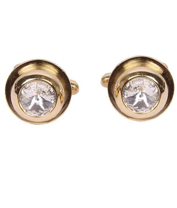 Sushito Golden Alloy Cufflink
