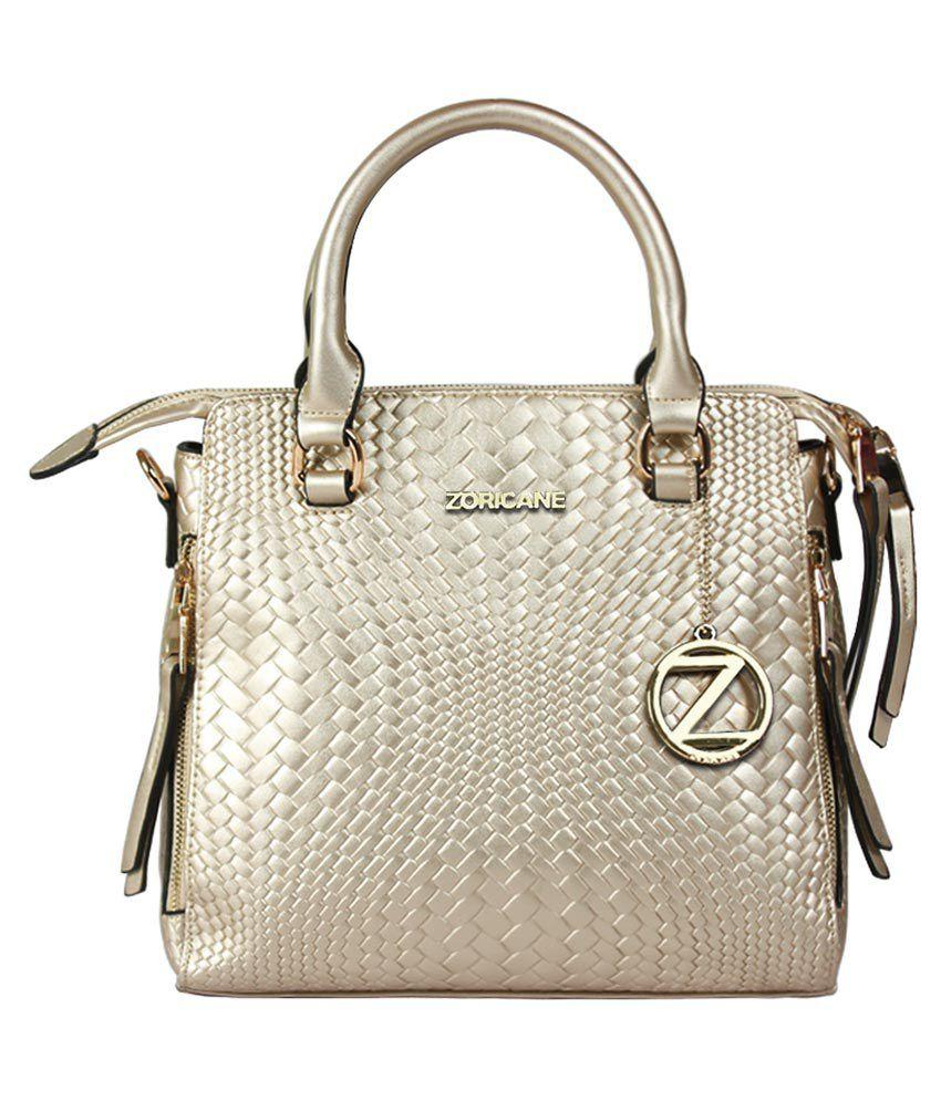 Zoricane Silver Shoulder Bag