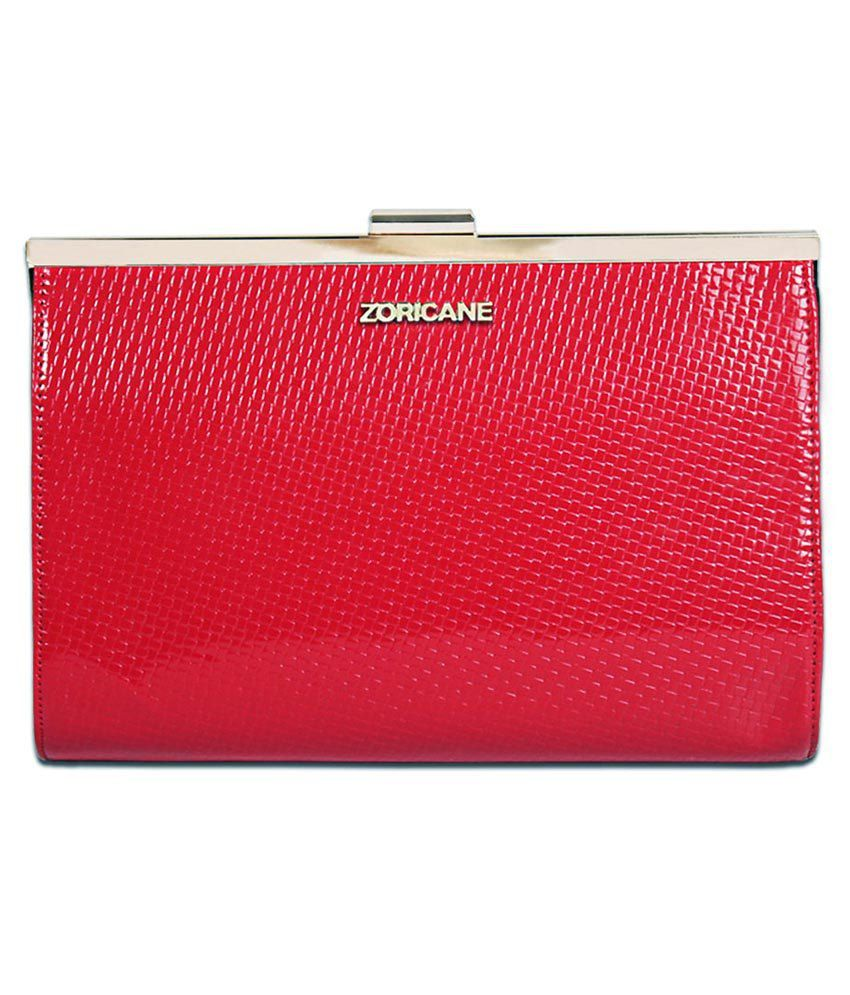Zoricane Red Clutch