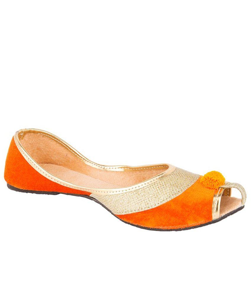D'Panache Orange Jutties