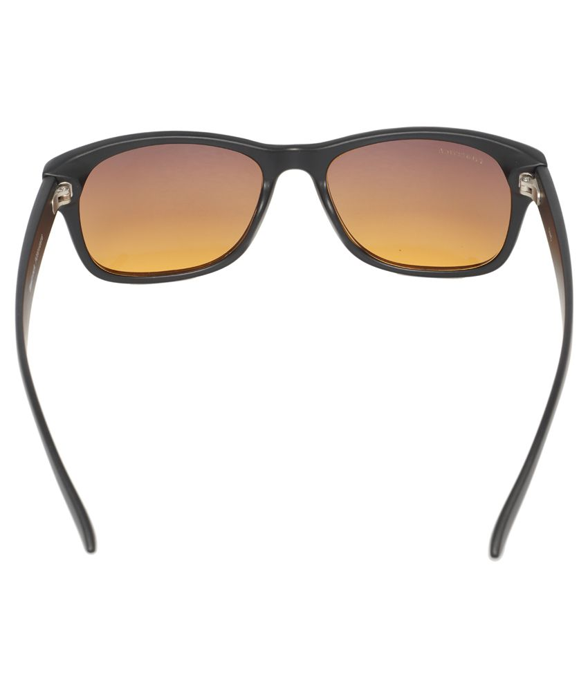 Fastrack Black Wayfarer Sunglasses  fastrack pc001am16 black wayfarer sunglasses fastrack