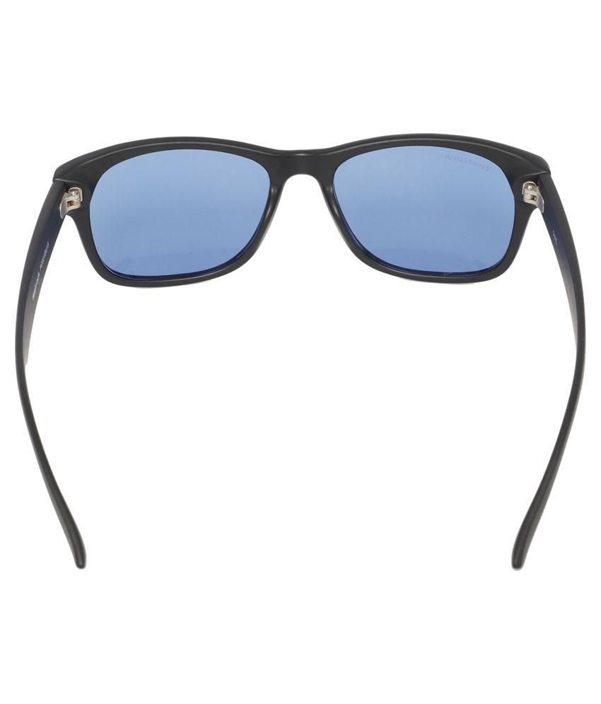 wayfarer sunglasses cheap hstm  Fastrack PC001BU15 Black Wayfarer Sunglasses