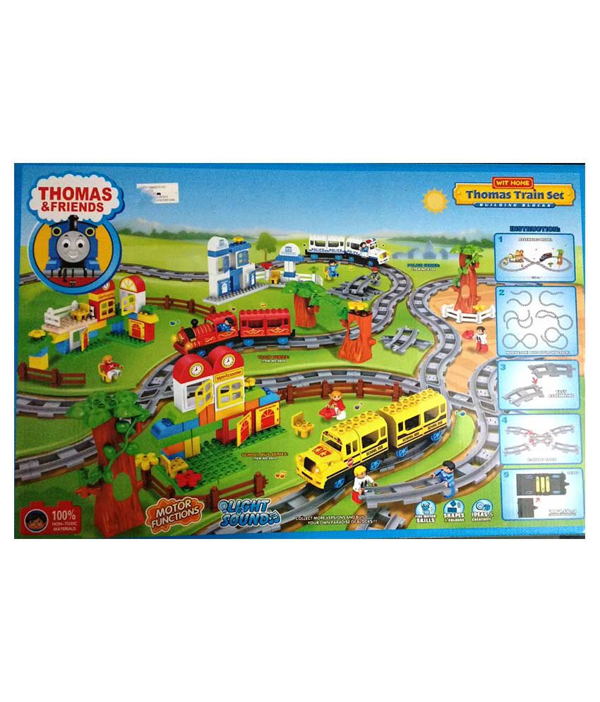 Fine Jaibros Thomas And Friends Toy Train Set With Track 77 Pcs Download Free Architecture Designs Scobabritishbridgeorg