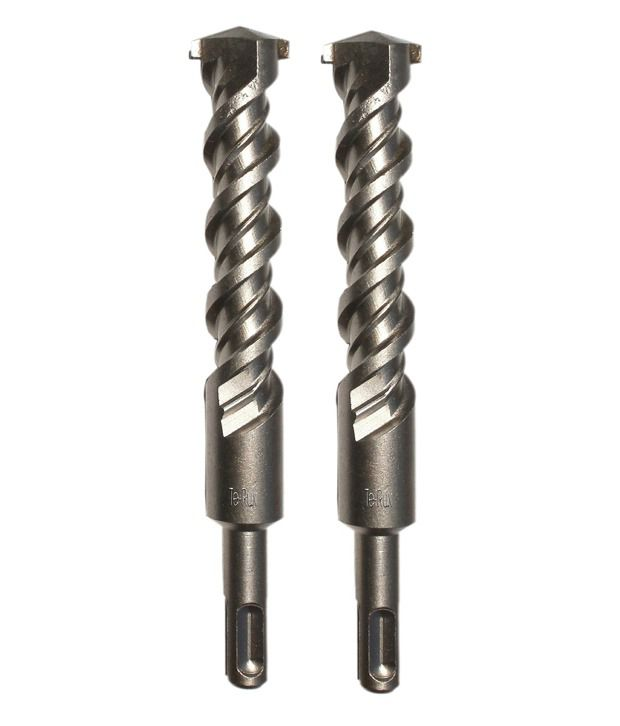 Te-Rux-SDSP19310-2-SDS-Plus-Hammer-Drill-Bit-(19-x-310,-Set-Of-2)