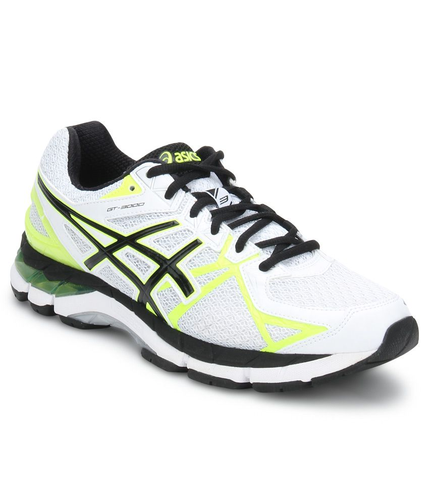 Asics Gt 3000 3 White Sport Shoes