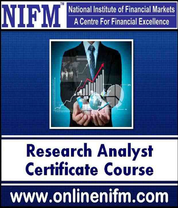 Nifm Research Analyst Online Certificate Course NCFM Certification ...