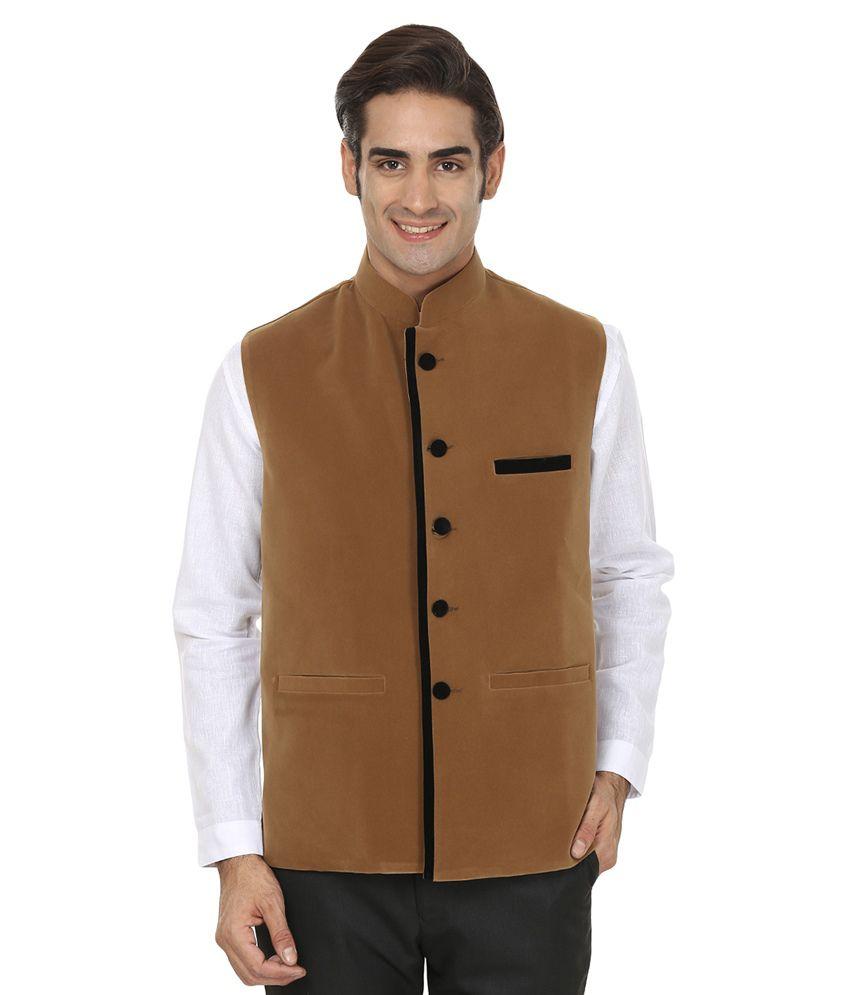 Wintage Brown Velvet Waistcoat