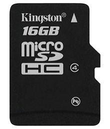 Kingston 16 GB Class 4 Memory Card