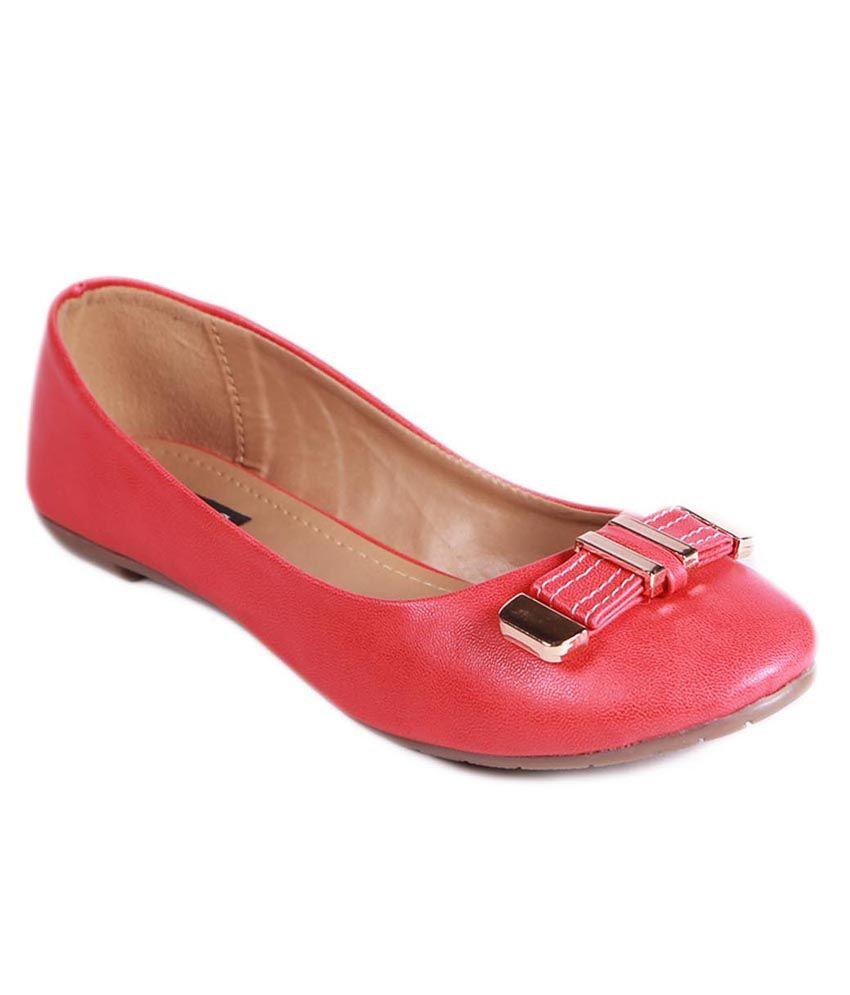 Balujas Red Ballerinas