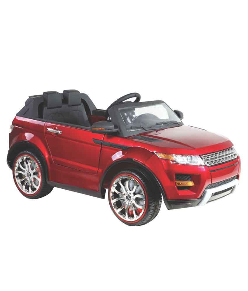 Hlx Nmc Battery Operated Cosmic Overdrive Rover Car Red