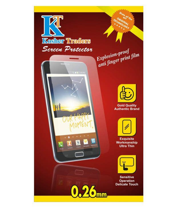 Micromax Xpress 4G (Pack of Three) Matte Screen Guard by Kosher Traders