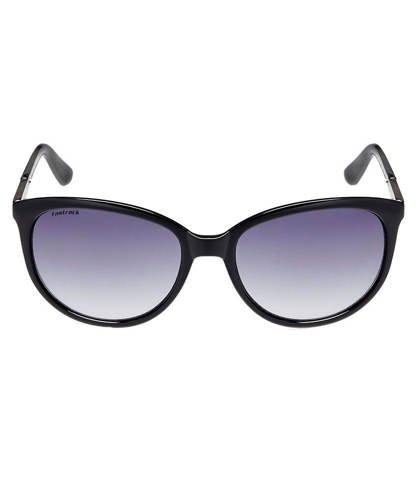a450a2b7a8d Fastrack P287BK1F Women Cat Eye Sunglass Fastrack P287BK1F Women Cat Eye  Sunglass ...