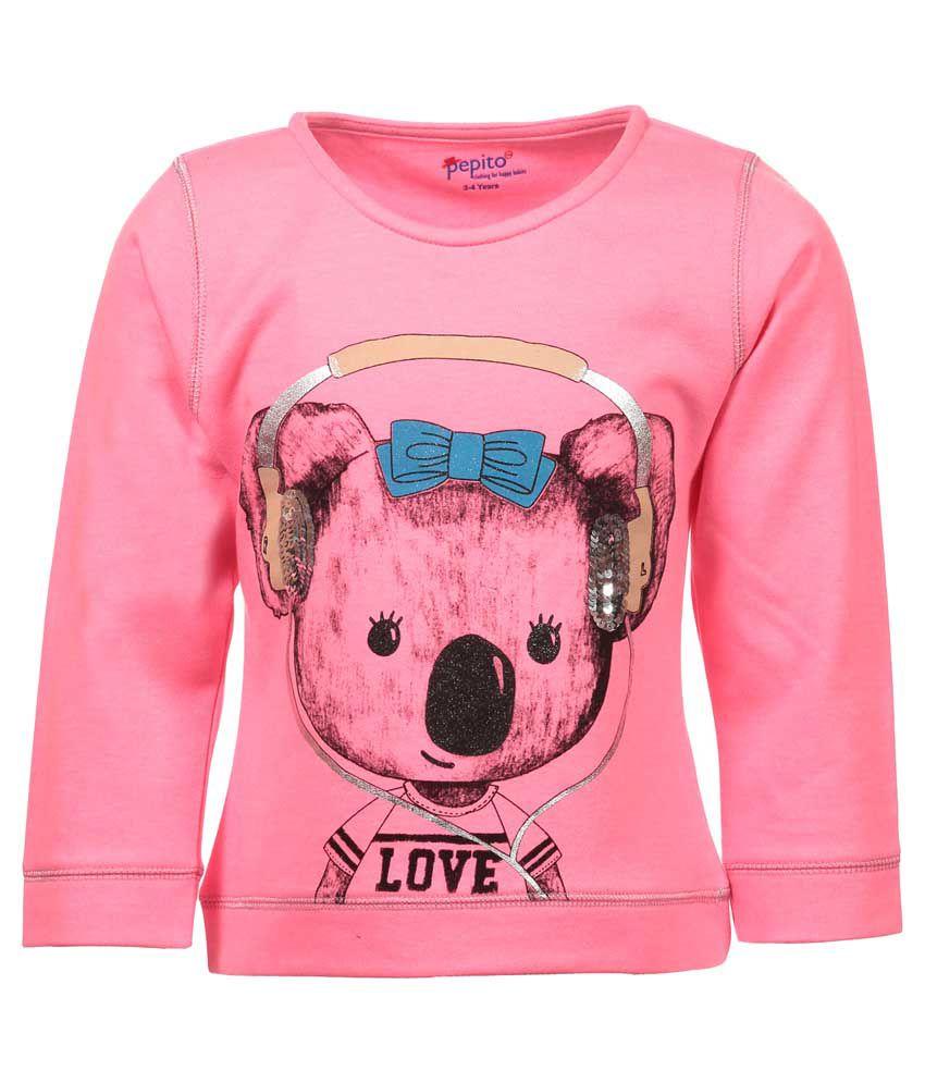 Pepito Pink Sweatshirt