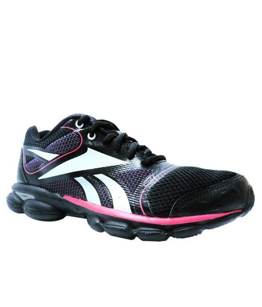 Reebok Runtone Plus Black Sports Shoes Price in India- Buy Reebok Runtone  Plus Black Sports Shoes Online at Snapdeal 5c068670e