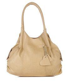 Fostelo Beige Shoulder Bag