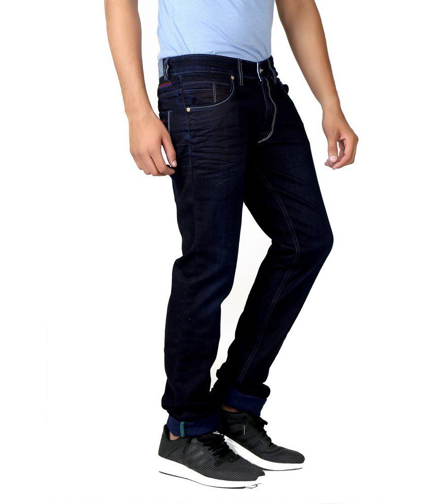 Circle Jeans Blue Slim Fit Jeans