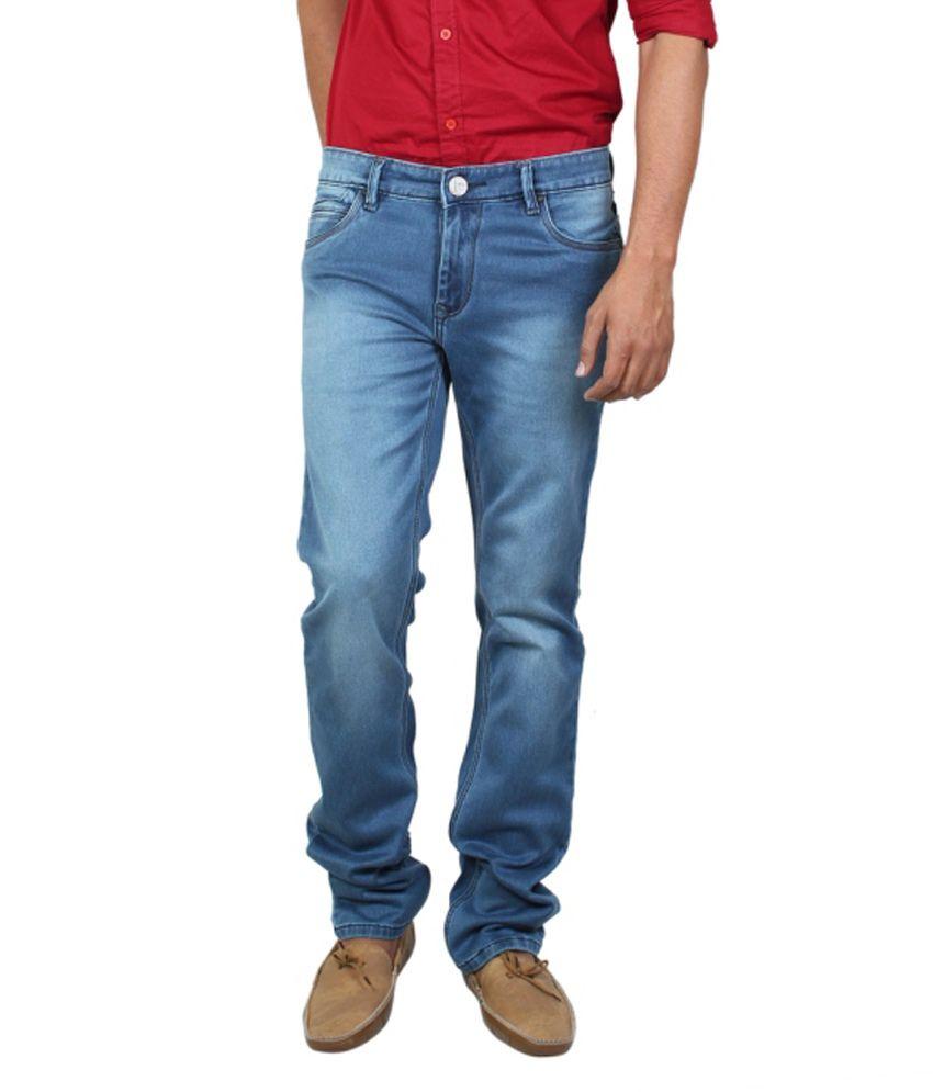 Lacrosse Jeans Blue Regular Fit Jeans