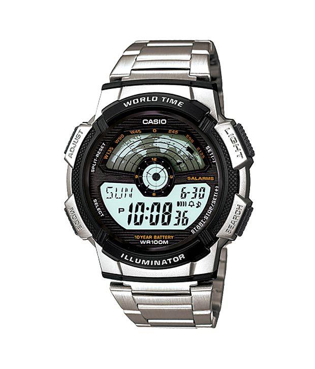 Casio Youth Digital Techie Series AE-1100WD-1AVDF (D088 ) Men's Watch