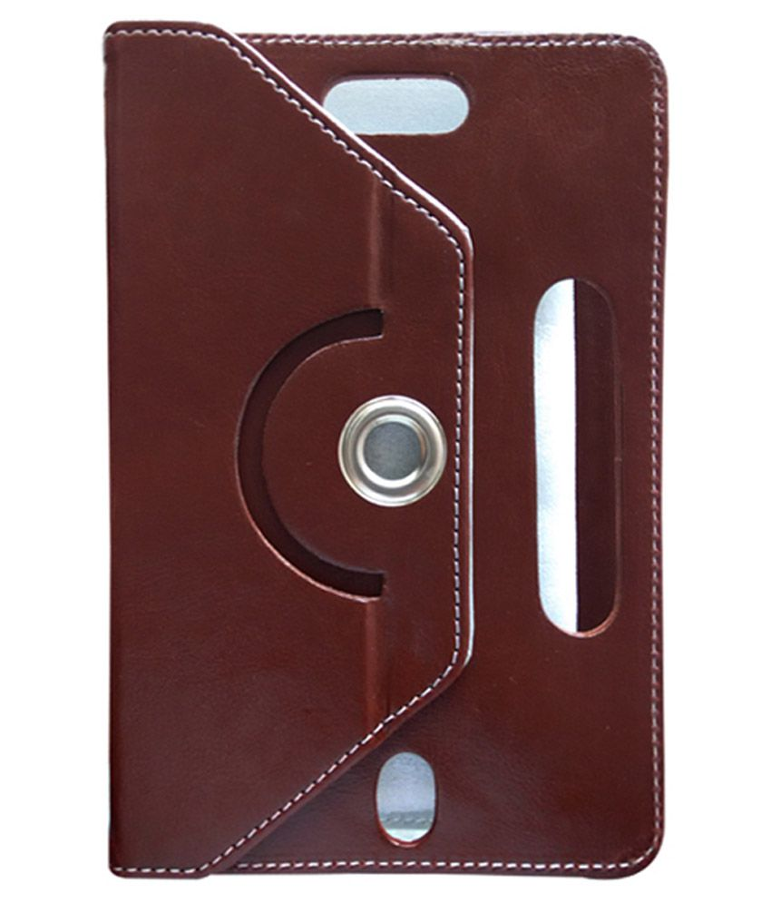 Fastway Flip Cover For Samsung Galaxy Tab3 T210 & T211 - Brown