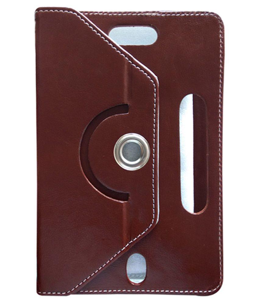 Fastway Flip Cover For Samsung Galaxy Tab 3 V - Brown